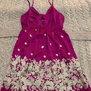 Violet short slip dress